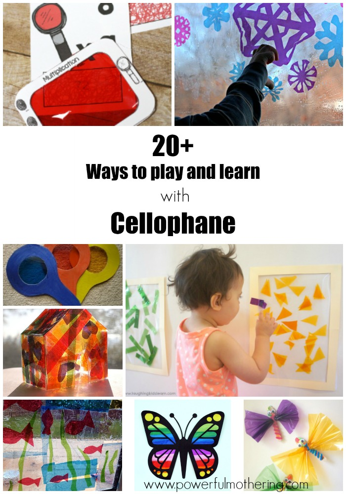 20+ Ways To Learn With Cellophane