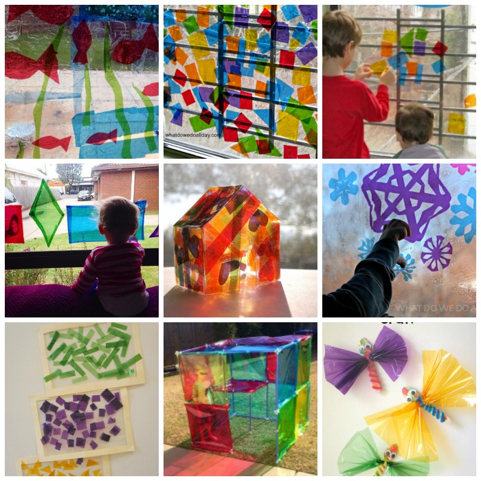20+ Ways To Play With Cellophane