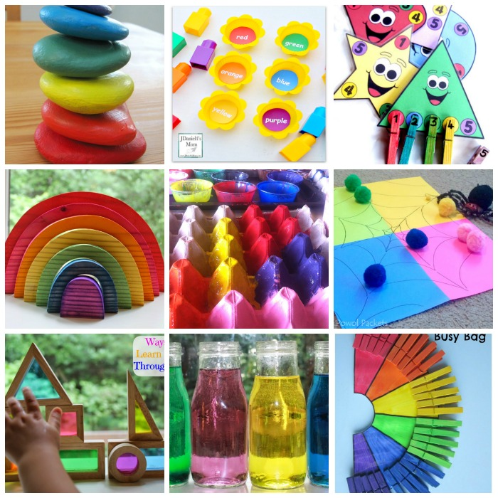 40+ Fine Motor Activities About Color Learning