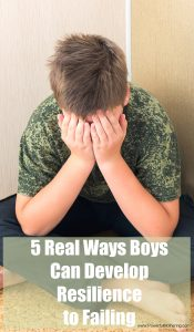 5 Real Ways Boys Can Develop Resilience to Failing