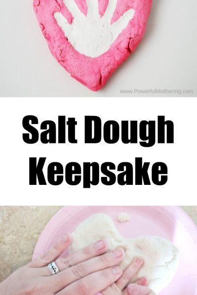 Heart Salt Dough Keepsake