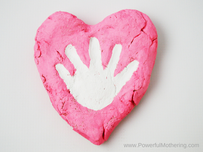 Salt Dough Heart Keepsake For Baby And Toddler