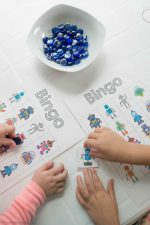 Free Robot Bingo Game for Kids
