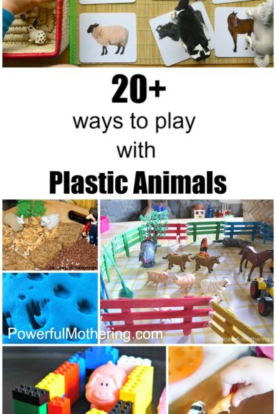 20+ Ways to Play with Plastic Animals