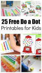25 Free Do a Dot Printables for Kids to Play and Learn With