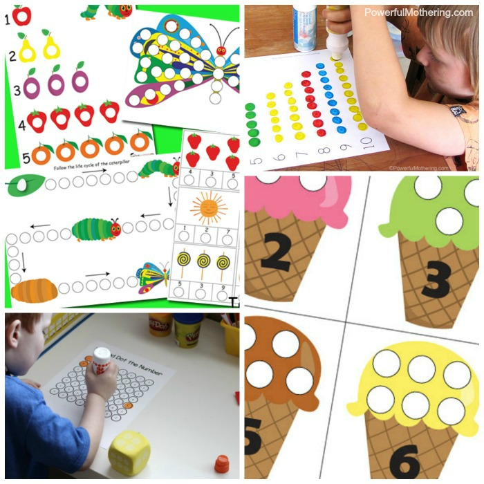 Free Do A Dot Printables To Help Kids Learn About Numbers