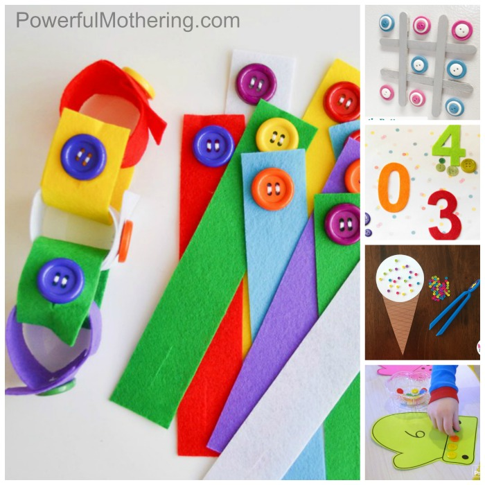 More Than 50 Button Games And Activities To Do With Your Preschooler