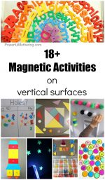 18+ Magnetic Activities on a Vertical Surface
