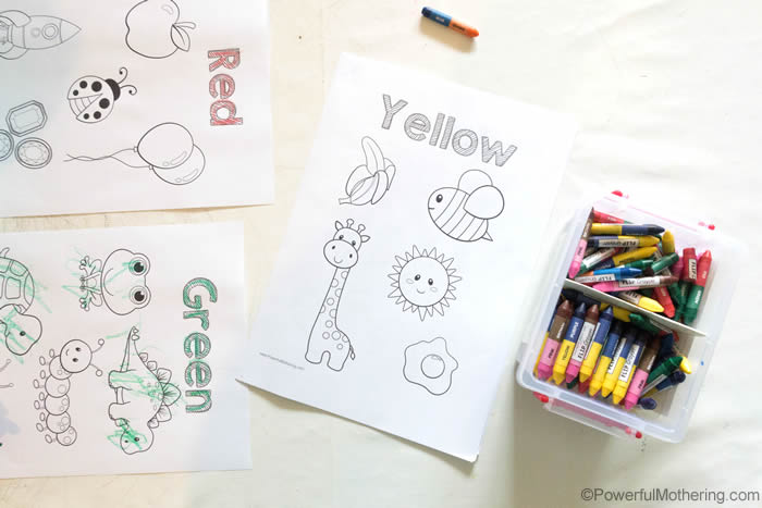 Use Flip Crayons For Toddlers