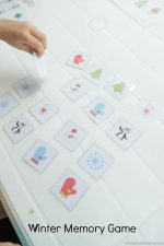 Free Printable Memory Game For Winter