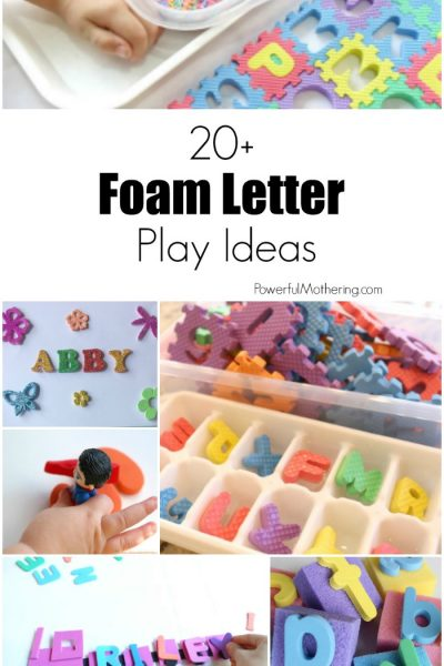 20+ Uses for Foam Letters
