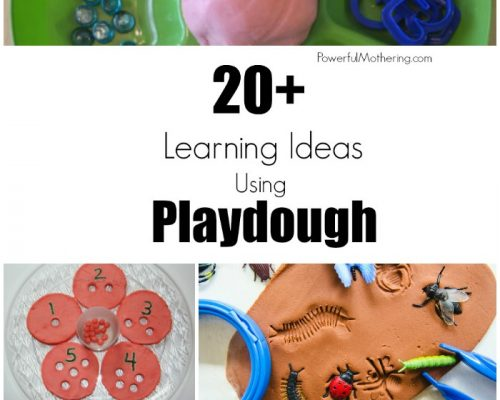20+ Hands-On Learning Ideas Using Playdough