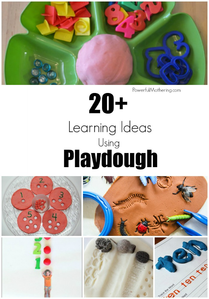 20+ Playful Learning Ideas With Playdough