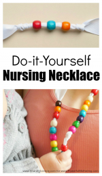 Simple Tutorial for a DIY Nursing Necklace