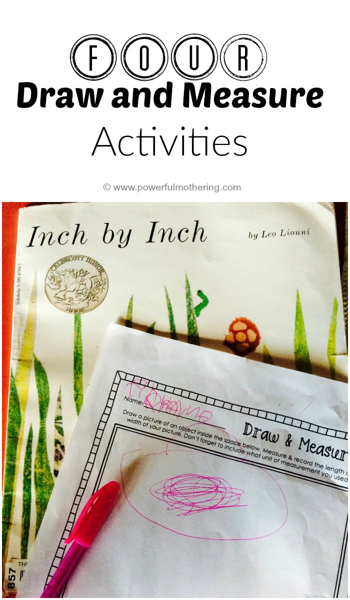 Four Draw And Measure Activities