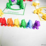 Rainbow Color Sorting Activity