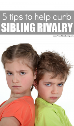 6 of My Favorite Tips and Tricks to Deal with Sibling Rivalry