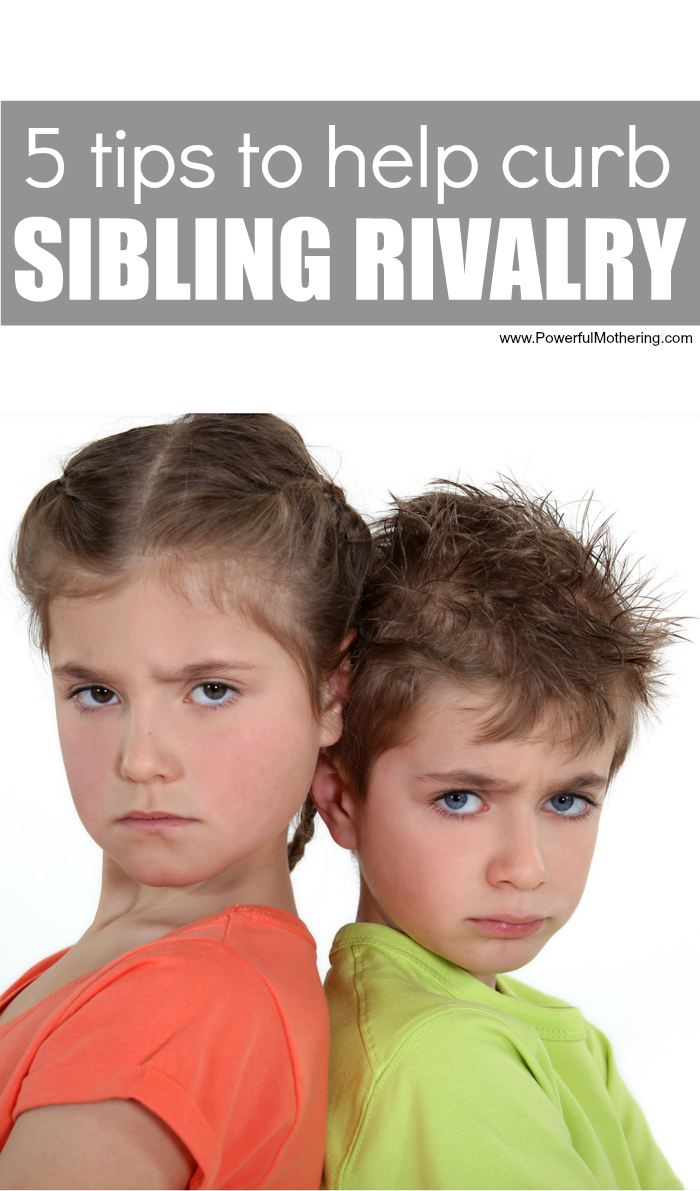 5 Tips To Help With Sibling Rivalry