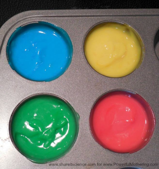 Colorful Homemade Baby Friendly Paint