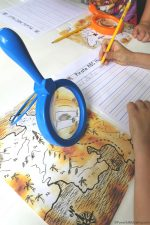 I Spy ABC Treasure Map Writing Activity