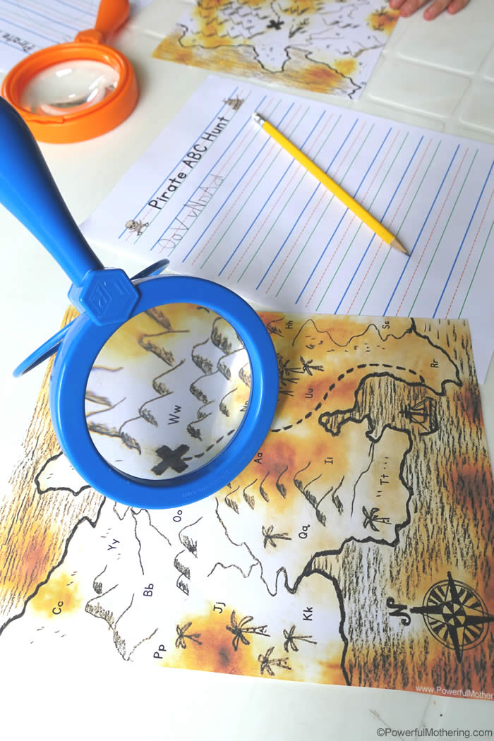 Treasure Map Abc Ispy