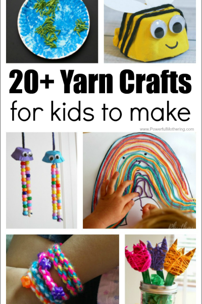 20+ Yarn Crafts For Kids To Make