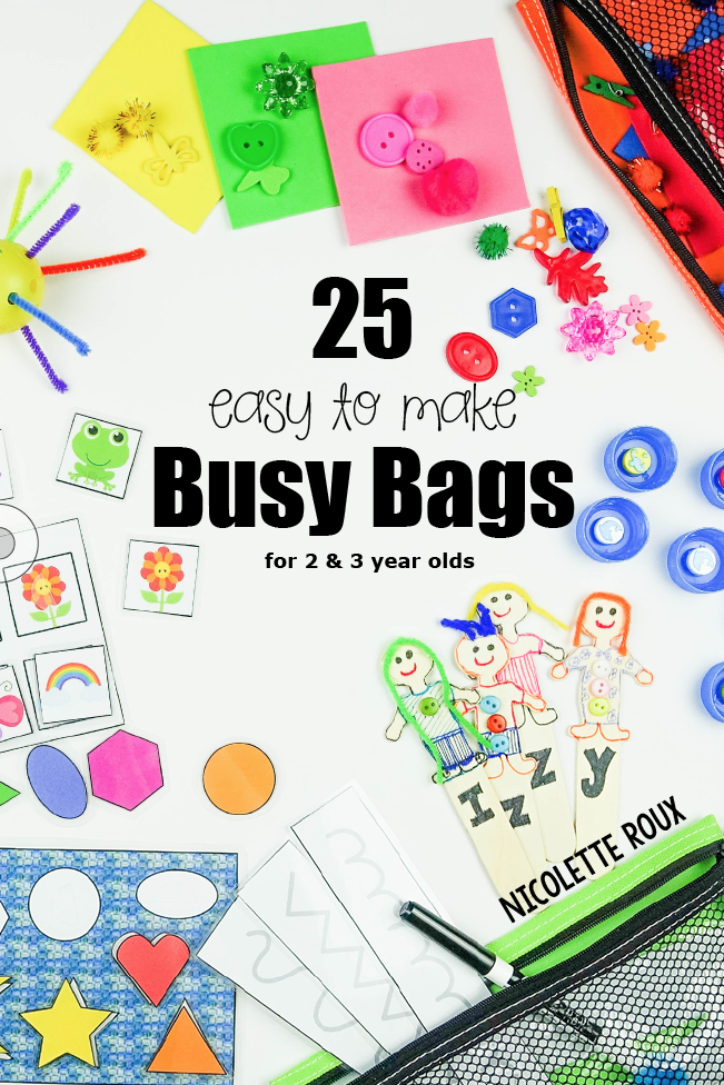 25 Easy To Make Busy Bags