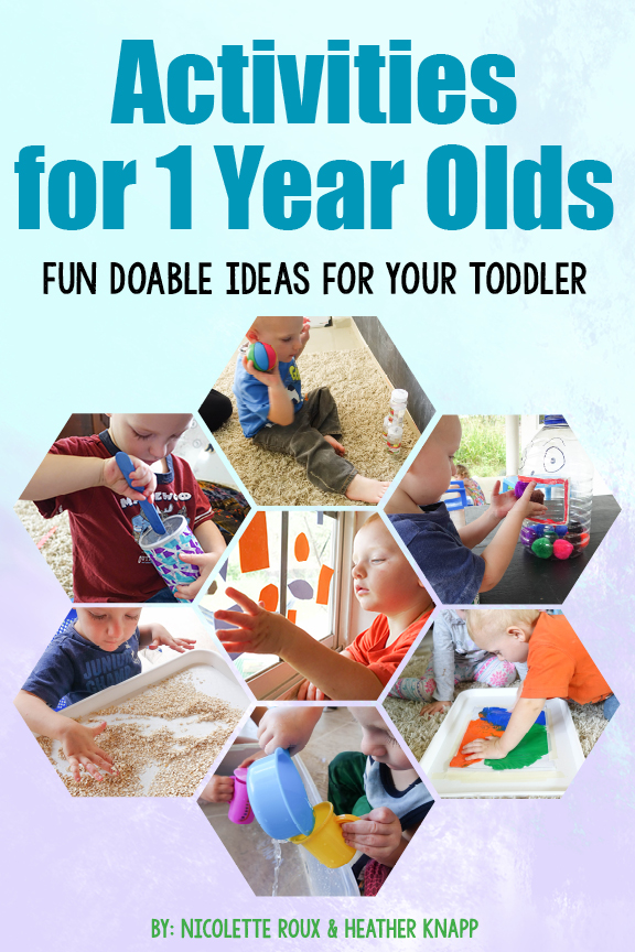 Activities For 1 Year Olds Ebook
