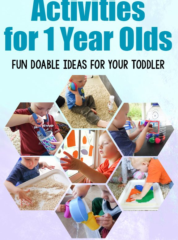 Activities for 1 Year Olds: Fun Doable Ideas for your Toddler