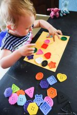 Button Shape Matching for Toddlers