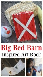 Big Red Barn Art Activity Book
