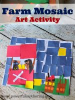 Mosaic Farm Art Activity