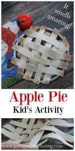 Pretend Play Apple Pie