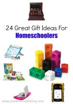 24 Gift Ideas for Homeschoolers
