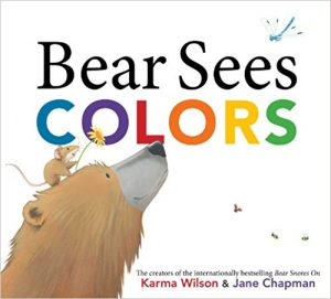 bear sees colors color hunt