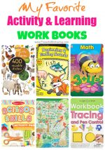 Favorite Activity and Learning Work Books