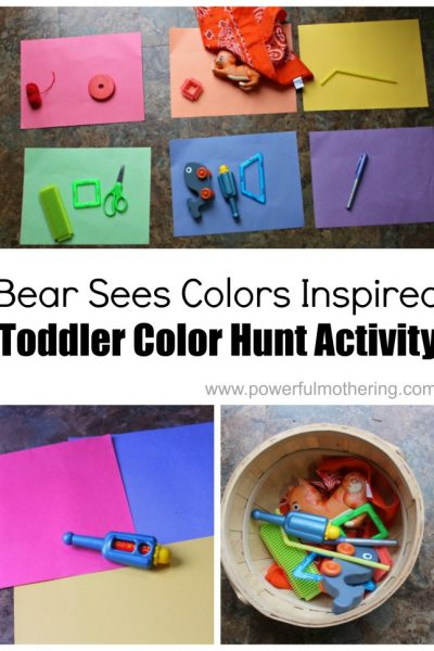 Bear Sees Colors Color Hunt for Toddlers