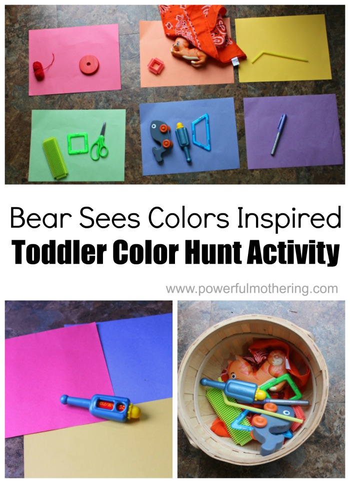 color game matching activities for toddlers and preschoolers color