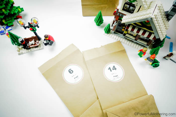 Brown Bags Lego Advent