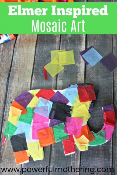 Elmer Mosaic Art Activity