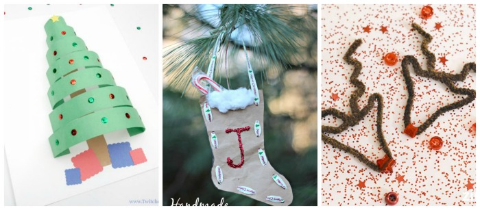 Glitter Preschool Crafts