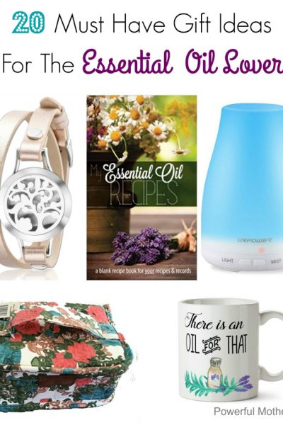 20 Must Have Essential Oil Gift Ideas
