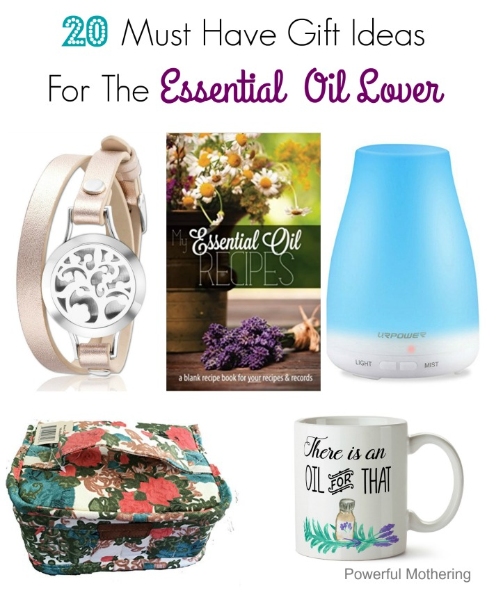 Must Have Gift Ideas For The Essential Oil Lover