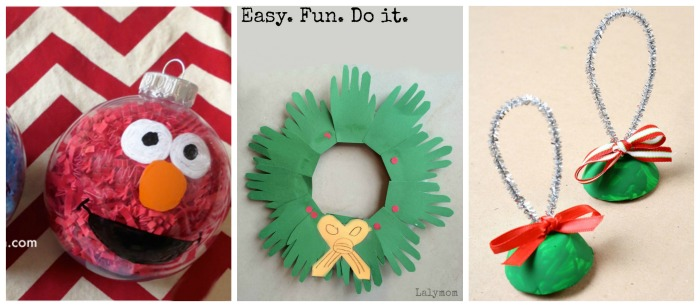 Ornament Preschool Christmas Crafts