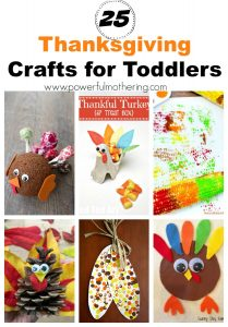 25 Thanksgiving Craft Ideas for Toddlers