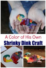 A Color of His Own Shrinky Dink Craft