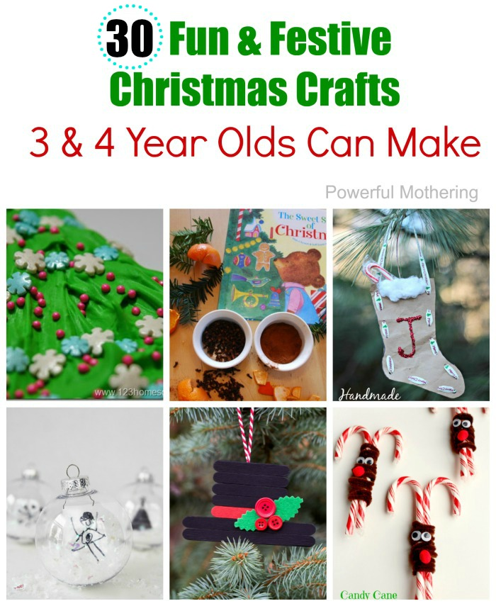25 Easy To Make Preschool Christmas Crafts