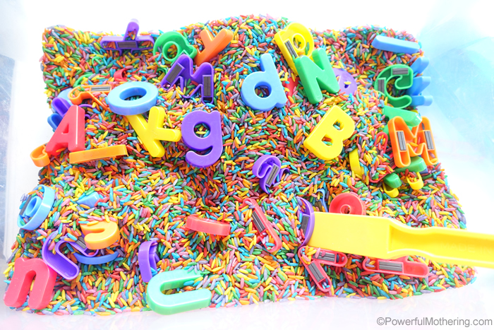 Magnetic Letters In Rice