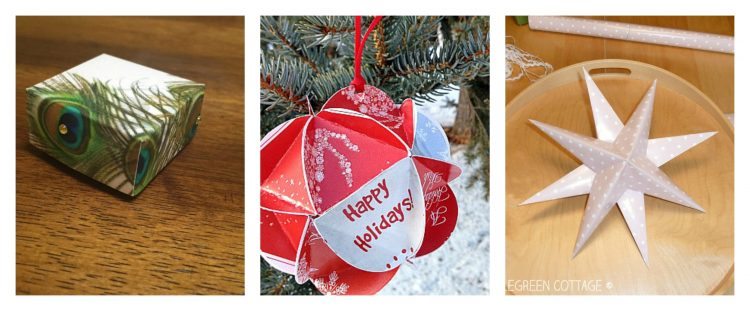homemade box christmas card crafts