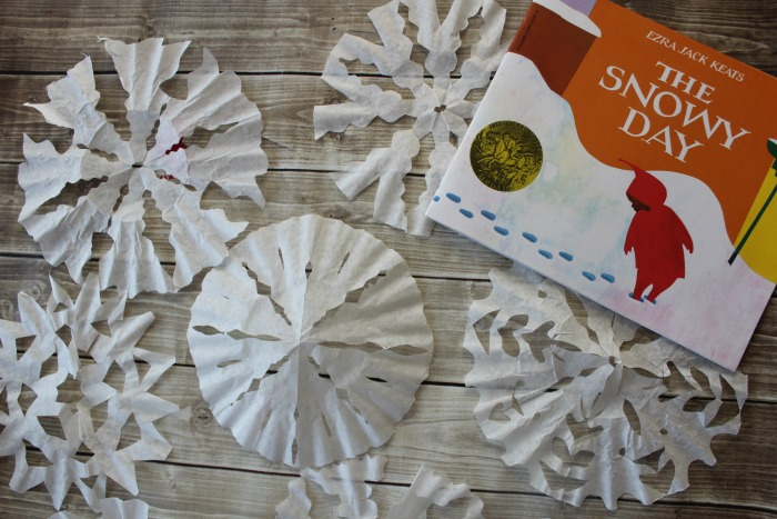 winter book based craft